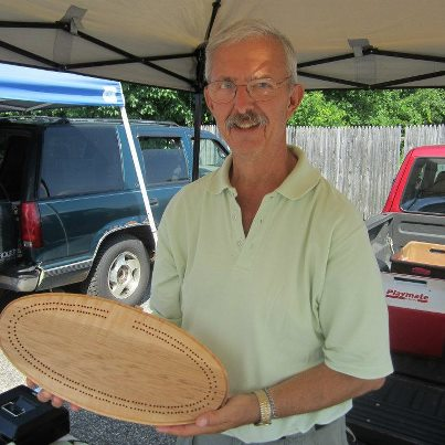 Fred With Cribbage Board