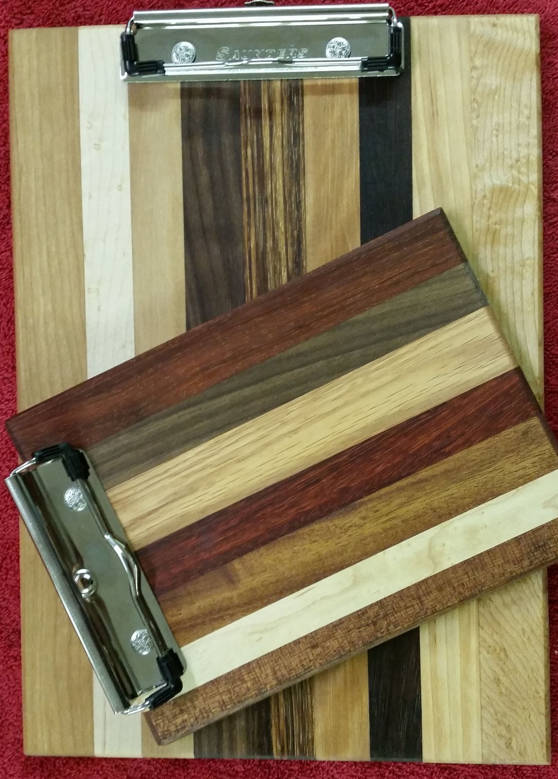 Large And Small Clip Boards