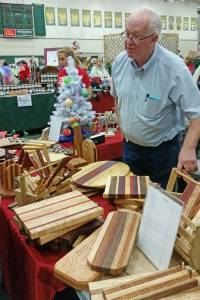 George At The DECA Holiday Craft Fair 2014