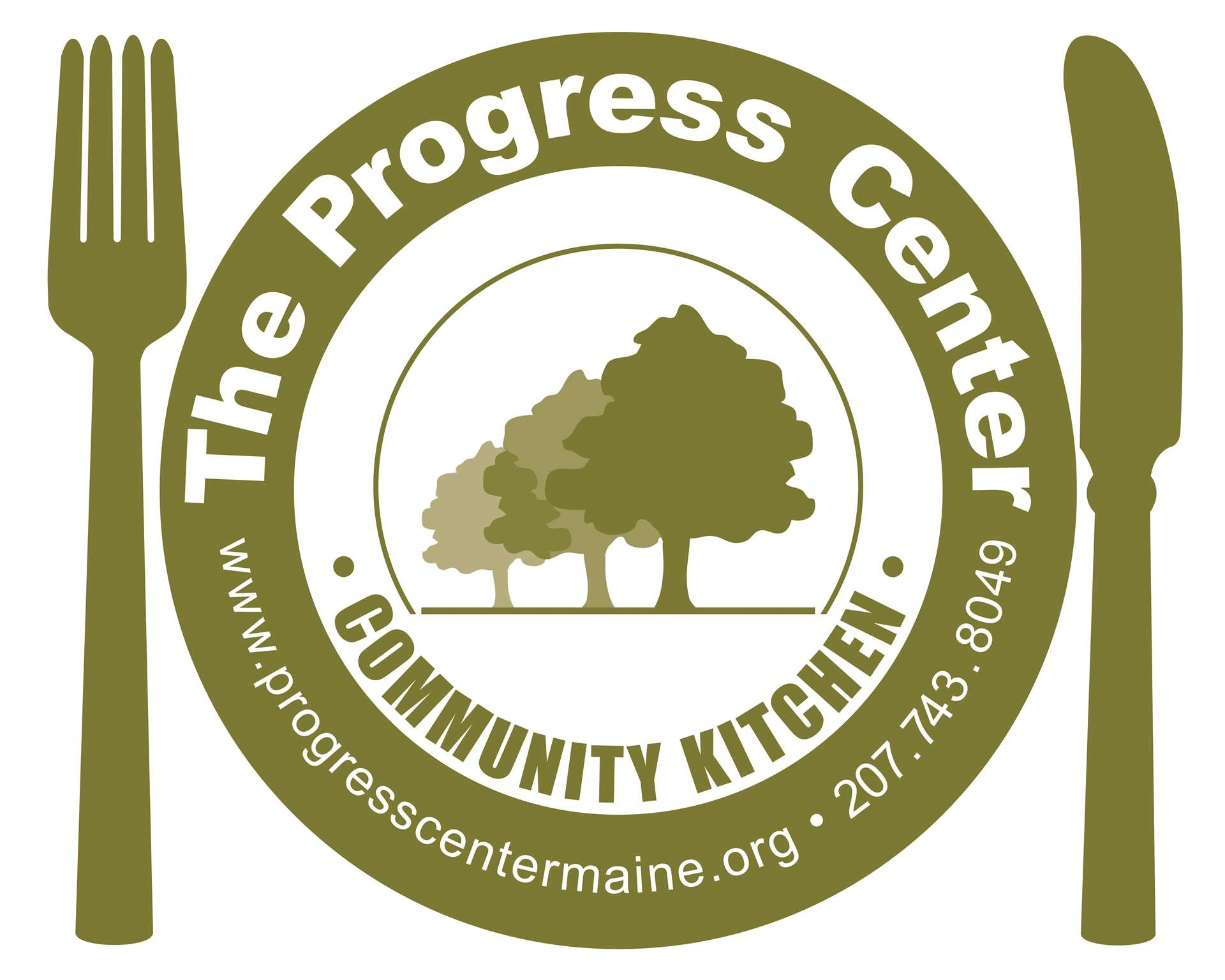 progress center community kitchen logo color - Kitchen Logo