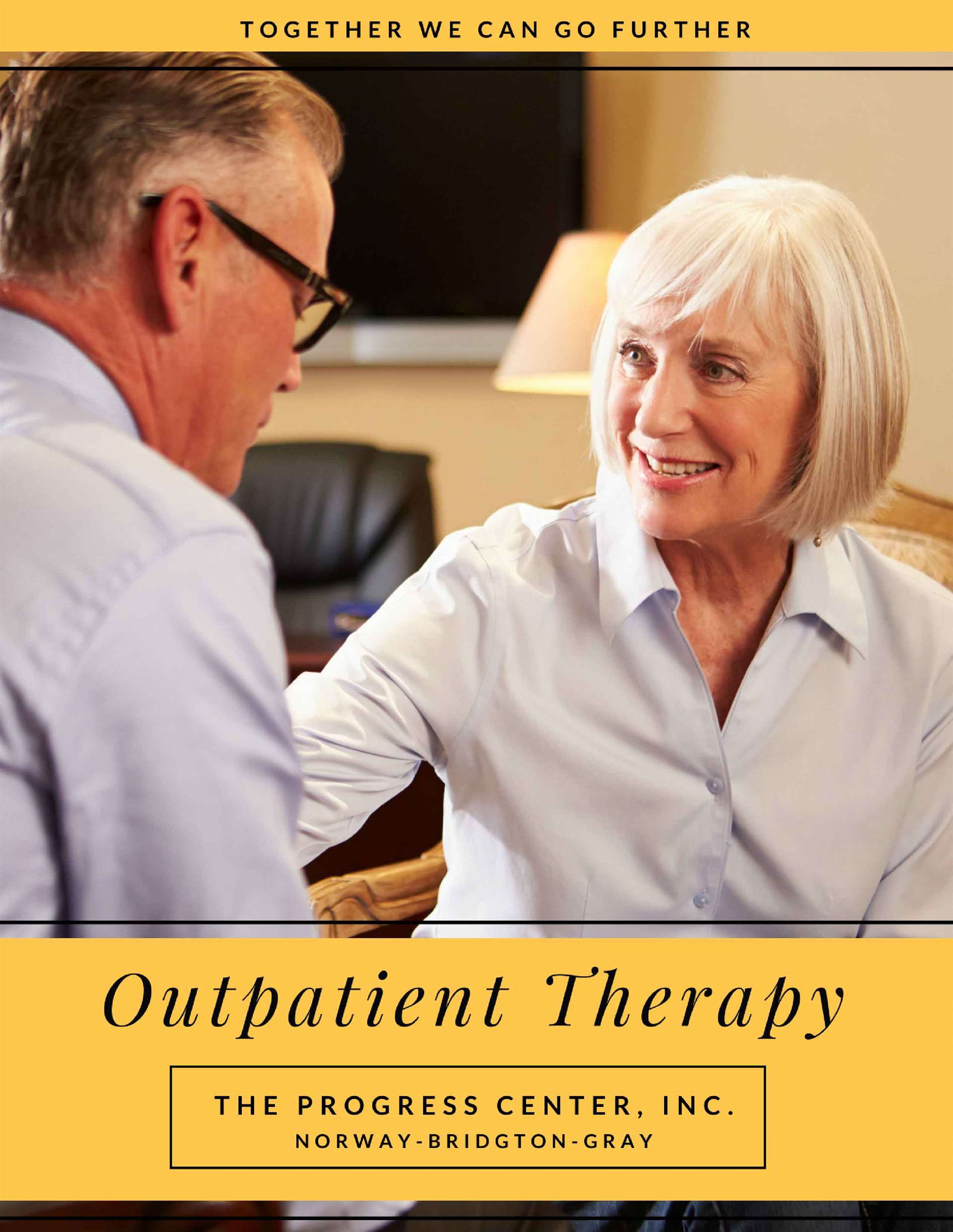 Outpatient Therapy Services The Progress Center