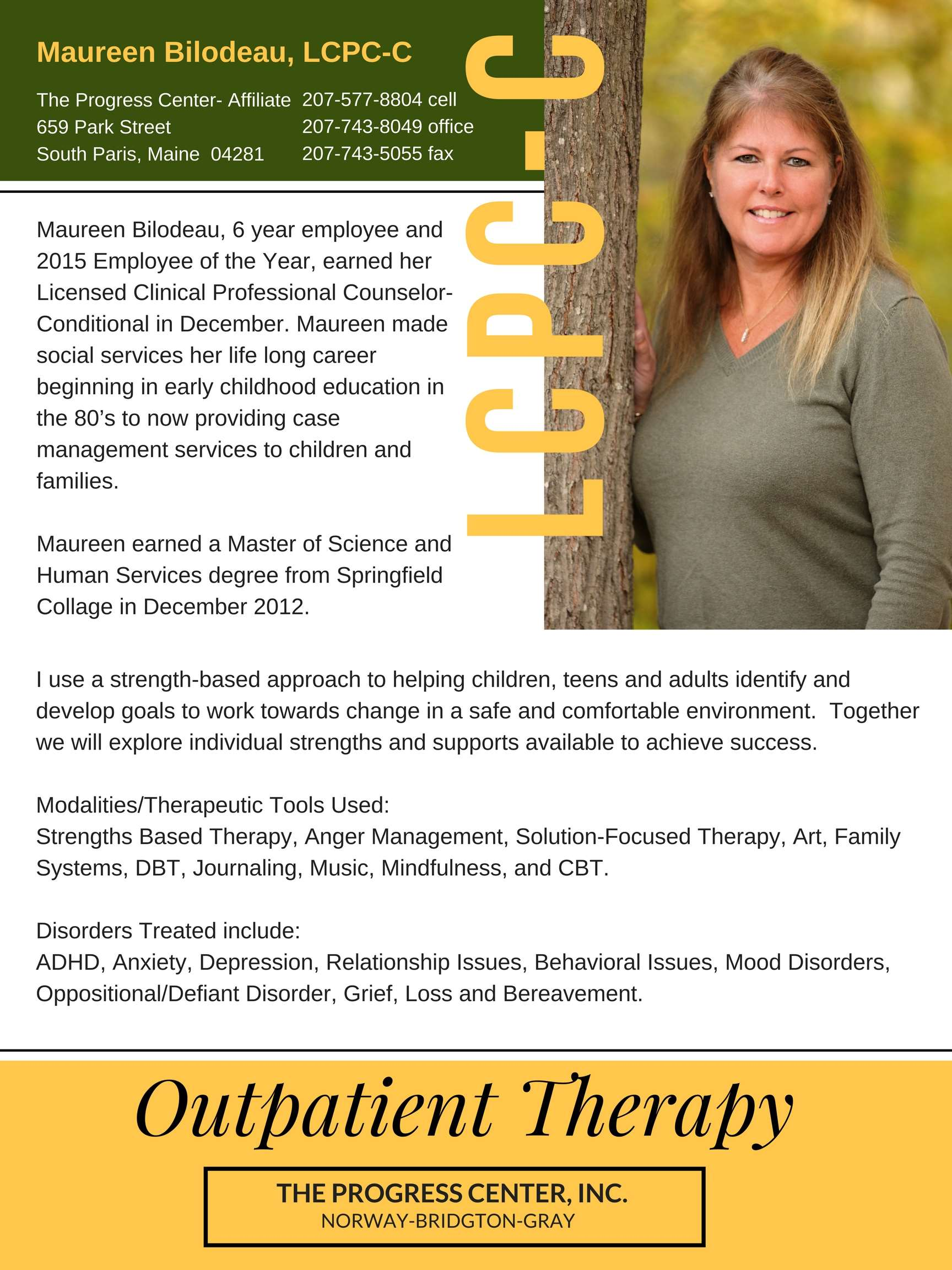 Outpatient Therapy Services
